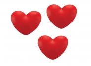 Καρδούλες  μικρές κόκκινες 3cm ΚΩΔ Ε898267