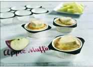 Καρτέλα muffins λευκή